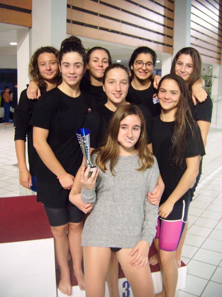 equipe fille 2 interclubs